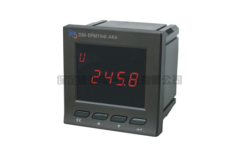 DM-EPM194U-9K4单相数码电压表